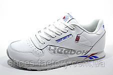 Белые кроссовки в стиле Reebok Classic Leather, Alter the Icons, фото 3