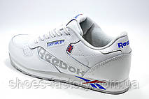 Белые кроссовки в стиле Reebok Classic Leather, Alter the Icons, фото 2