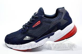 Мужские кроссовки в стиле Adidas Falcon W, Dark blue\Red