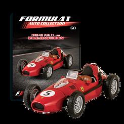 Модель коллекционная Formula 1 (Формула 1) Auto Collection (1:43) Centauri №60 Ferrari 246 F1