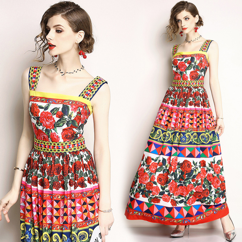 157a72a23dd Платье - Сарафан на Широких Бретелях — в Категории
