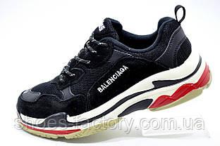Женские кроссовки в стиле Balenciaga triple s, Black\White