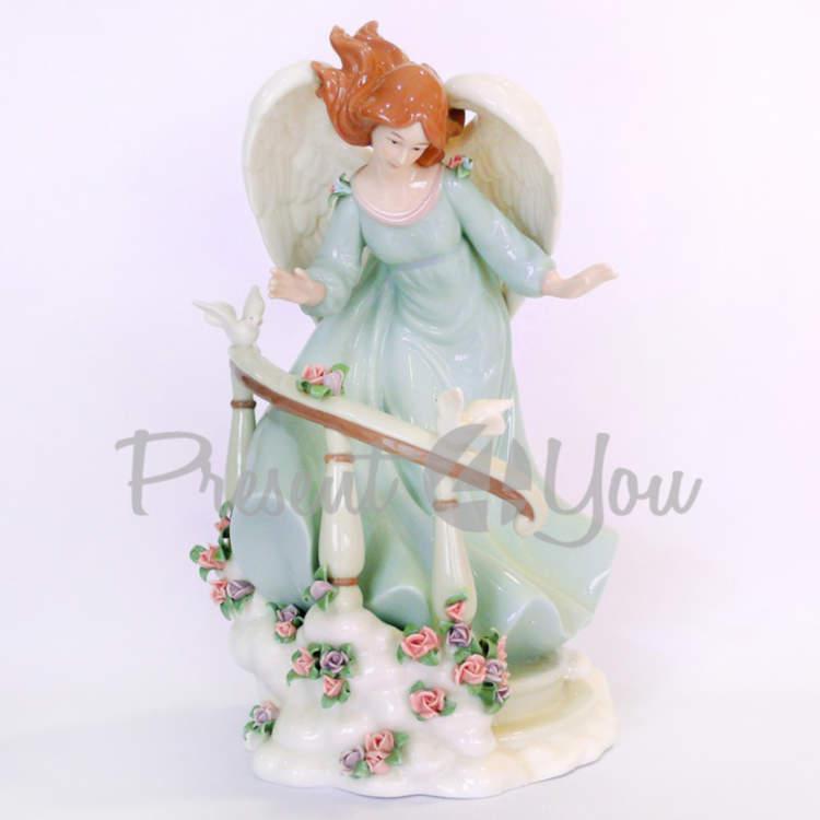 Фигурка «Волшебный ангел», фарфор, h-29,8 см (350-3071)