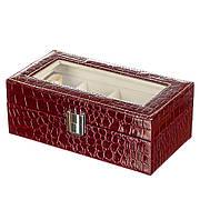 Шкатулка-бокс для хранения часов на 4 отделения (0635JA)