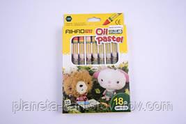 Пастели масляные Aihao 68011-18