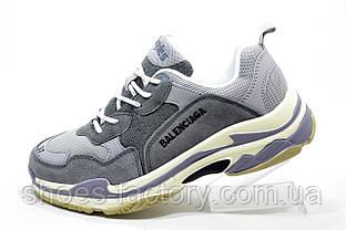 Женские кроссовки в стиле Balenciaga triple s, white\beige