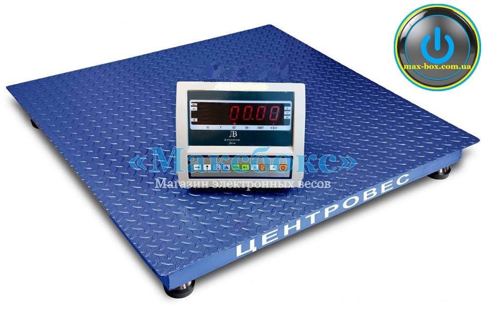 Весы платформенные 500 кг — Центровес 0808