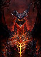 Картина GeekLand World of Warcraft Мир Военного Ремесла дракон 40х60см WW.09.117