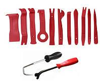 Профессиональный набор инструментов для снятия обшивки (облицовки) авто 13шт.