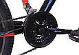 """Горный велосипед CROSSRIDE SKYLINE 26"""" Черный/Красный, фото 6"""