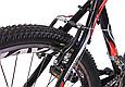"""Горный велосипед CROSSRIDE SKYLINE 26"""" Черный/Красный, фото 8"""
