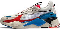 Мужские кроссовки Puma RS-X Reinvention Whisper White/Red Blast 369579-01, Пума РС-Х