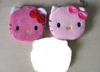 Кошелек детский мягкий Hello Kitty 10 см