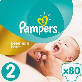Подгузник Pampers Premium Care Mini Размер 2 (3-6 кг), 80 шт (4015400741633)