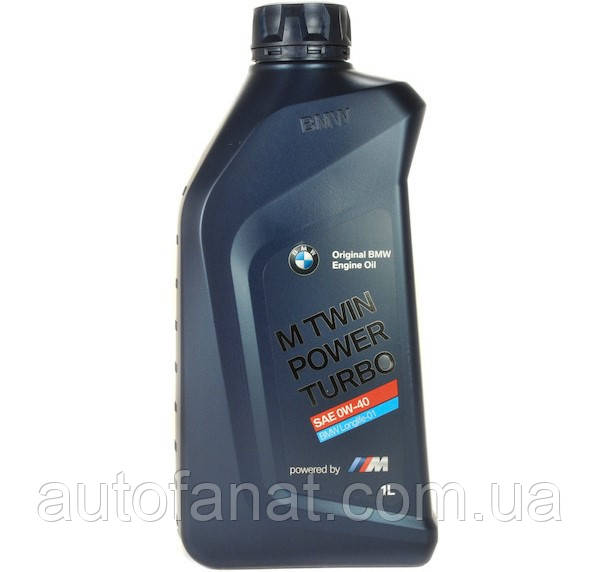 Моторное масло BMW M TwinPower Turbo Longlife-01 0W-40 1л  (83212365925)
