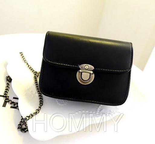 Женская повседневная сумочка-клатч через плечо из PU кожи. Разные цвета. 15*11*5 см