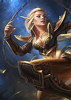Картина GeekLand World of Warcraft Мир Военного Ремесла фан арт 40х60см WW.09.169