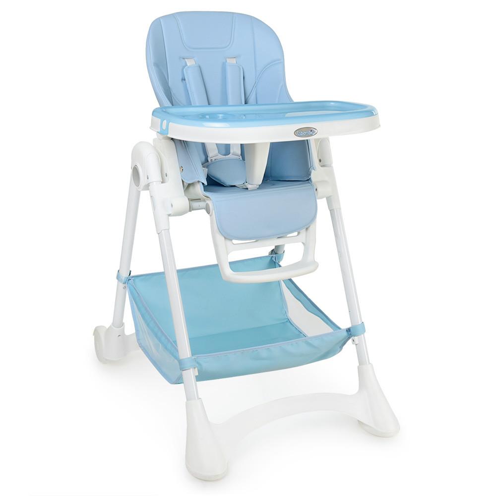 Детский cтульчик-трансформер для кормления M 3569-12 голубой