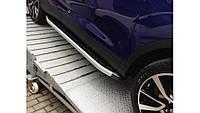 Пороги Ауди Q7 / Audi Q7 06 - 14 Dolunay