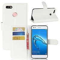 Чехол-книжка Litchie Wallet для Huawei P9 Lite Mini Белый