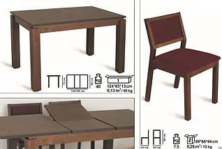 Комплект стол и стулья Комано, фото 3
