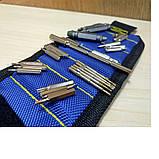 Магнітний браслет для будівельників і майстрів, на 3 магніту, фото 9