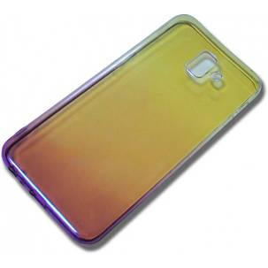 Силиконовый чехол для Samsung J610/J6+ Gradient Incore Violet, фото 2