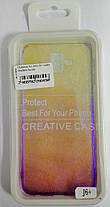 Силиконовый чехол для Samsung J610/J6+ Gradient Incore Violet, фото 3