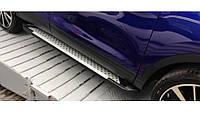 Пороги Фольцваген Кадди / Volkswagen Caddy 2004 - 2014 Almond