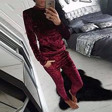 Спортивный костюм женский велюровый модный стильный 42 44 46 48 50 Р