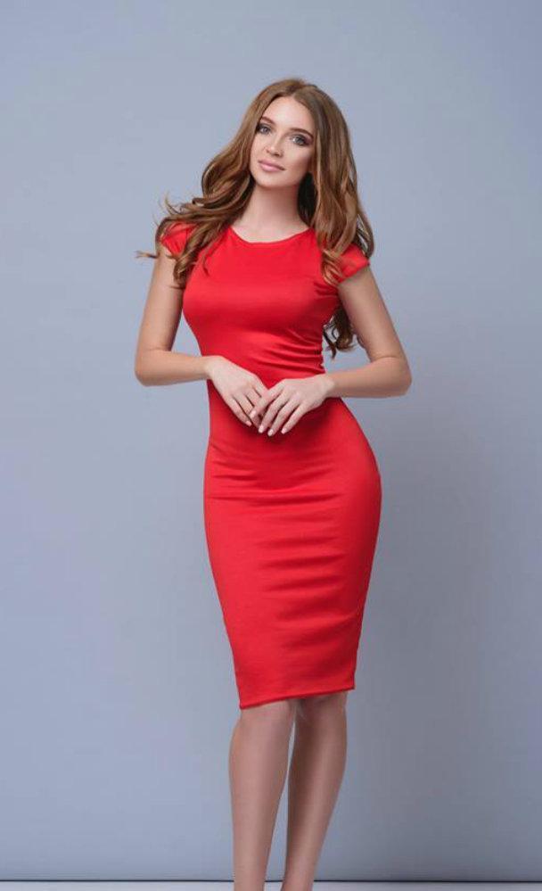 Платье миди футляр от производителя 42 44 46 48 50 Р