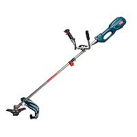 Электрическая коса Зенит ЗТС-1800 садовый триммер для травы газона U-рукоятка, разборный вал нож + леска