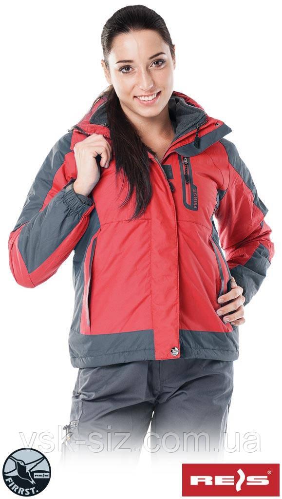 Утепленная женская куртка REIS TREEFROG