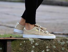 Оригинальные женские кроссовки Puma Wmns Suede Heart Safari 37-40,5р. 364083-01