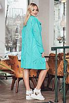 Яркий весенний кардиган с перфорацией вискоза коттон с карманами размеры 42-52, фото 2