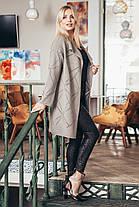 Яркий весенний кардиган с перфорацией вискоза коттон с карманами размеры 42-52, фото 3