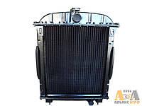 Радіатор водяний 45-1301006 (латунний з металевими бачками) (JFD)