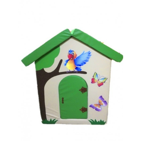 Мягкий домик Попугай