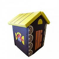 Детский мягкий домик Теремок, фото 1