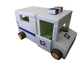 Модуль-трансформер Полицейская машина