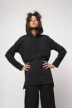 Худи женское черное Шива (Sheeva) от бренда ТУР размер S,M,L,XL