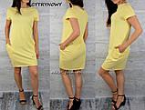 Платье туника длинна 90см 42 44 46 48 50 Р, фото 2