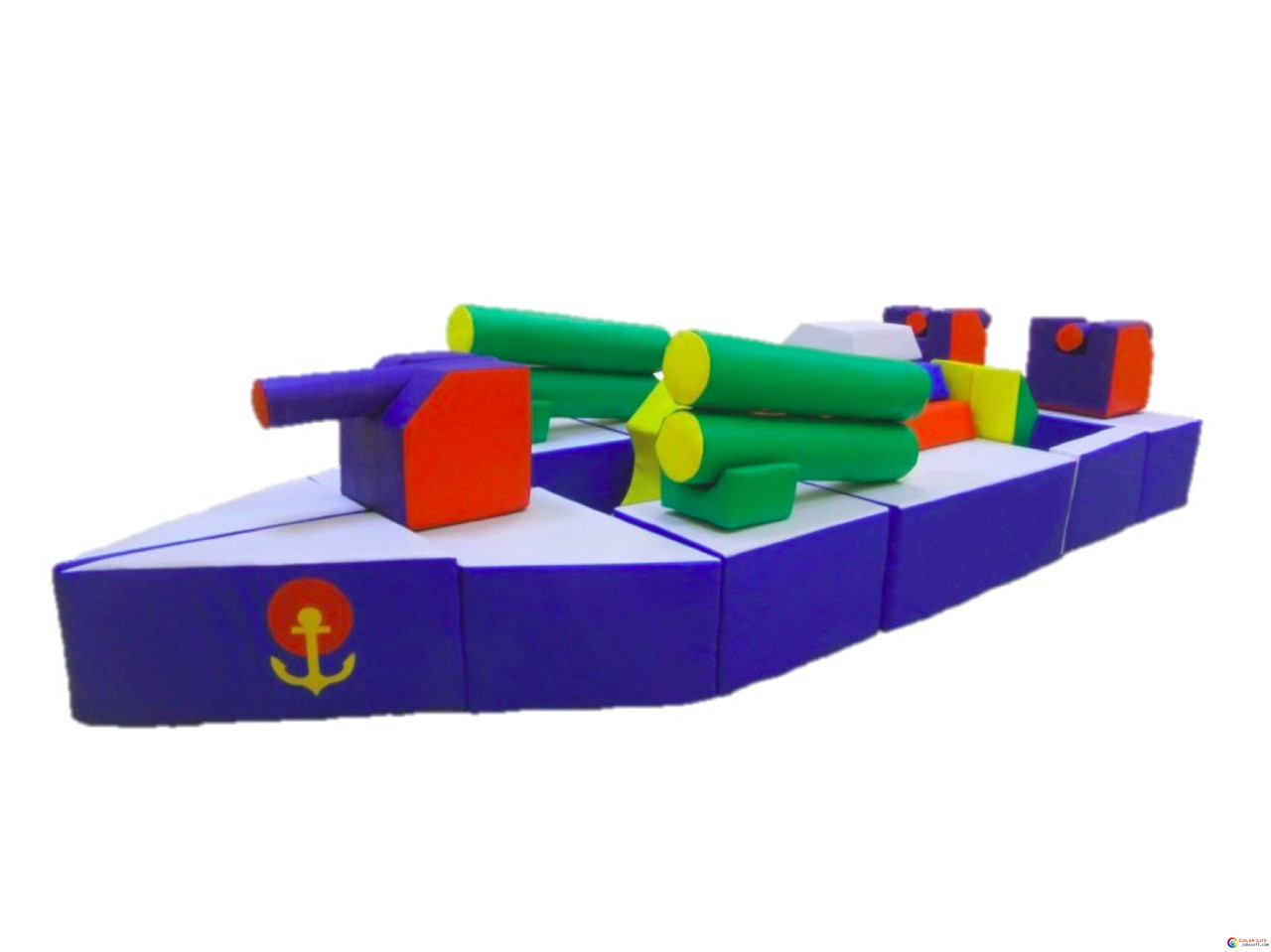 Модуль-трансформер Военный корабль