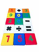 Набор матов Юный математик, фото 1
