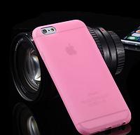 Силиконовый светло-розовый чехол Iphone 6 6S