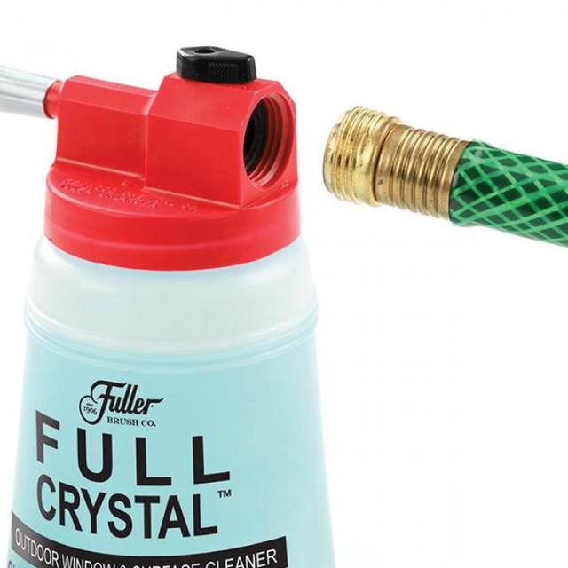 Многофункциональный очиститель стекол, окон и наружных поверхностей от Full Crystal (в ящике 30шт). - фото 4