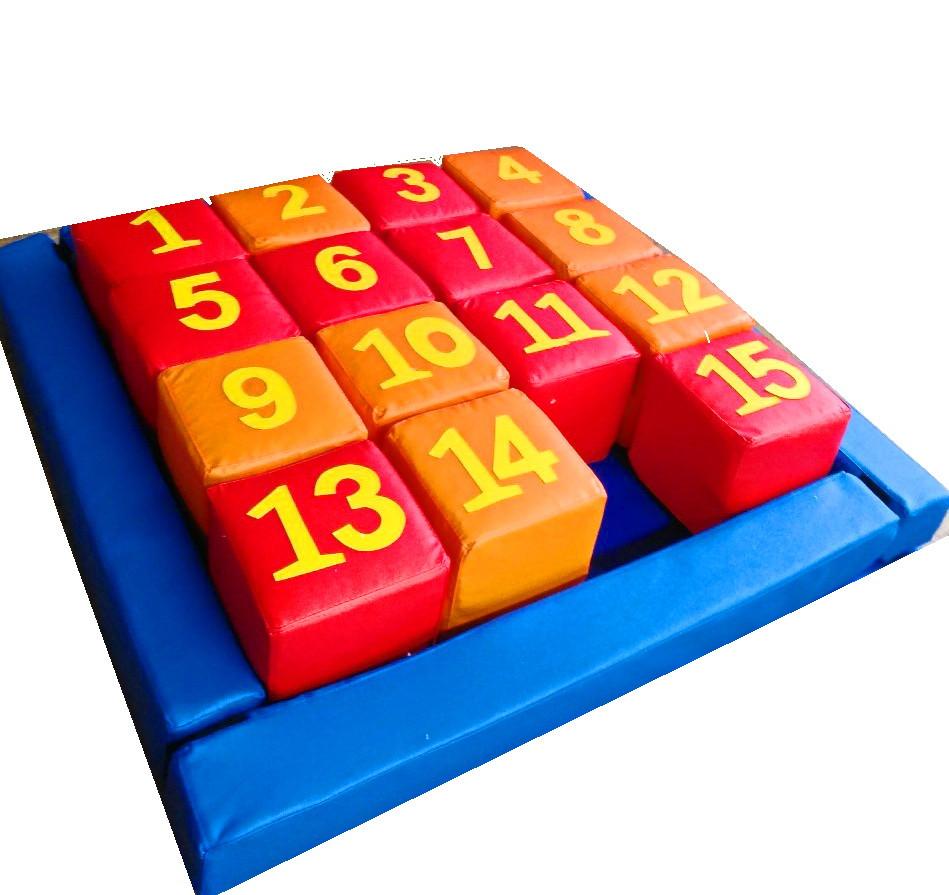 Набір кубиків П'ятнашки