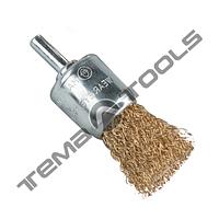 Щётка пальчиковая для дрели из рифлёной проволоки YDM9001