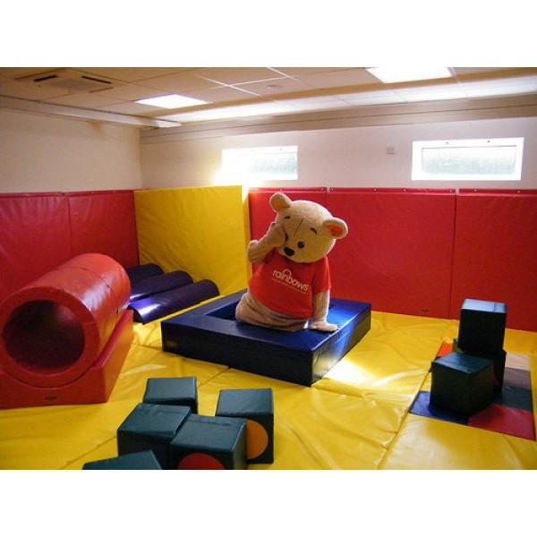 Мягкая детская игровая зона до 40 кв.м
