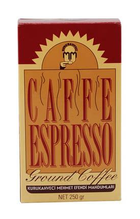 Молотый кофе Kurukahveci Mehmet Efendi Espresso, 250г, фото 2